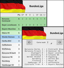 Why always bet - German league fixtures results table ...